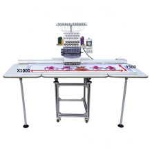 New Design Embroidery Machine single head flat embroidery Competitive price best design price OEM-1201/1501CL