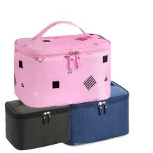 Promotional Waterproof Large Pink Travel Makeup Bag Cosmetics Bags for Men