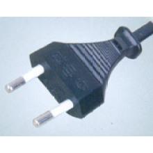 German Electrical Plug AC Power Cord