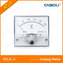 Amperímetro analímetro del metro del panel análogo de la CA de 80 * 65m m