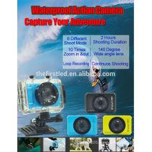 iShare S200 HD Sport Camera 1080P Underwater IP Camcorder Helmet Sport DV cheap underwater digital camera
