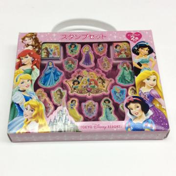 Kunststoff Disney Princess portable Stempelset
