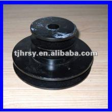 Custom black oxide belt pulley