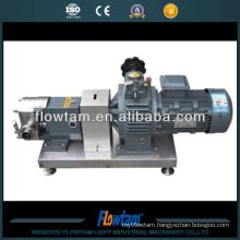 stainless steel 304 or 316 lobe beer pump