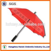 Nouveau Design 23'' * 8 k Promotion parapluie droit avec poignée EVA