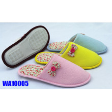 Women's Fashion Suede Winter Binding Indoor Slippers