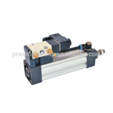 SUF series DOUBLE acting standard pneumatic cylinder with valve
