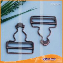 Boucle de suspension et boucle de cajou en métal KR5162