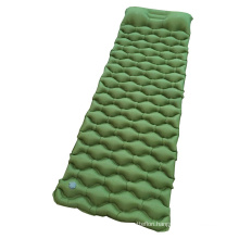 Outdoor Sleeping Pad Inflatable Camping Mattress With High Quality TPU Nylon Fabric