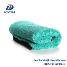 China fábrica super macio microfibra camurça coral fleece toalha para cozinha e limpeza do carro