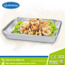 Food Use and Round, Elliptic, Square Type Airline Aluminum Foil Container
