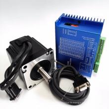 Système de moteur pas à pas à boucle fermée nema34-Kit servo hybride 6.0A 4.6Nm