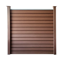 China manufacturer WPC Board Easy Install Wood Plastic Composite Fence Panel