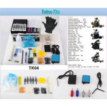 Горячие продажи профессиональные татуировки комплект 4 машина орудия татуировки комплект (Tk04)