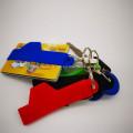 Maßgeschneiderter umweltfreundlicher weicher PVC-Schlüsselringhalter