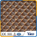 2017 hengshui decorative Perforated metal mesh punched wire mesh netting plate screen for coffee bar
