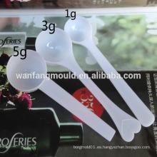 Molde plástico disponible de la cuchara de los cubiertos de la inyección de la cavidad de la aduana 24 de China Taizhou con CE