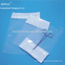 Transparent Medical Heat Sealing Sterilization Tyvek Headbag