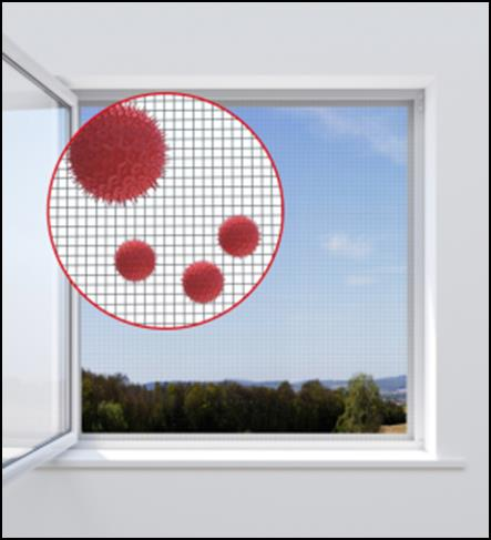 Pollen Protection Window Screen