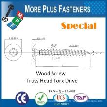 Fabriqué en Taiwan Carbon Steel Low Price Nouveau Premium Special Custom Wood Screw Torx