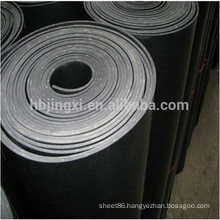 High quality black SBR Rubber sheet in roll