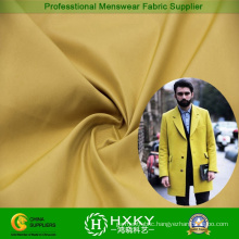 Two-Tune Yarn Dyed Polyester Fabric for Men′s Overcoat