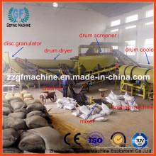 Abfall organische Dünger Granulierende Produktionslinie