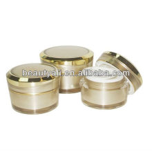 5ml 10ml 15ml 30ml 50ml 100ml oblique tapered cosmetic acrylic jar for cosmetic
