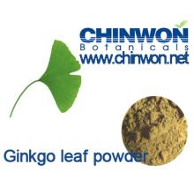 100% puro e natural Ginkgo Biloba folha em pó