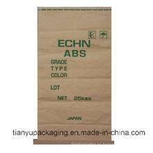 Bolsa de papel kraft inferior cosida Cusomized