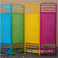 colorful wood rattan living room folding doors cheap room divider