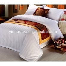 White luxury hotel 5 estrellas bed sheet hotel duvet cover