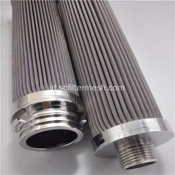 0,45-500um 316 Stainless Steel Cartridge Filter Lipat