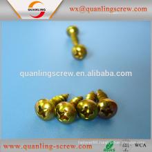 China wholesale merchandise flat head top grade manufacture wafer head chipboard screw
