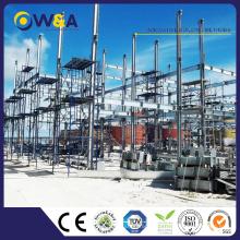(WAS3505-110S) Installation rapide Modulaire Chine Maison préfabriquée pour les ventes