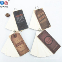 Factory Supply Pocket Size Loose Leaf Writing Notepad