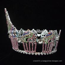 Красавица Королева Корона Тиара формы торт Стразы большой день рождения короны