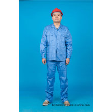 High Quality Long Sleeve 65% Polyester 35%Cotton Safety Suit Workwear (BLY2004)