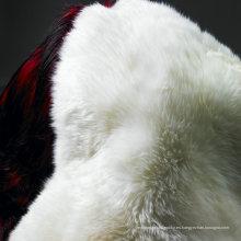 Venta al por mayor Snow White Australian Lamb Skin