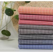 T/C 80/20 Yarn Dyed Check Shirt Fabric Lining Fabric