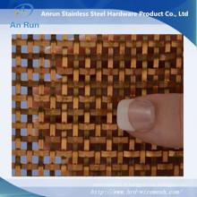 "Treillis Décoratif Flat-Wire Bronze Fandango 36 ""X 48"""