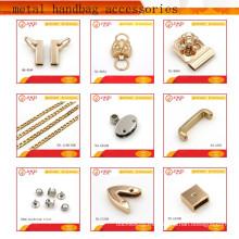 Fábrica de fabricación de diversos tipos de accesorios de hardware de metal bolso