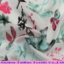 2016 Tecido Digital Têxtil 100% Poliéster De Seda Chiffon Tecido Impresso Atacado