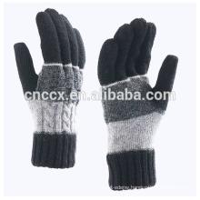 P18C01TR men's fall winter fashion 100% cashmere glove