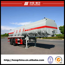 Transporte chinês do tanque do SUS da oferta 21400L do fabricante, semi-Reboque perigoso das cargas