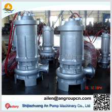Anti Corrosion Abrasion Stainless Steel Acid Chemical Sewage Submersible Pump