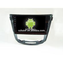 Vier Kern! Android 4.4 / 5.1 Auto-DVD für QASHQAI / X-TRAIL mit 10,1 Zoll kapazitiven Bildschirm / GPS / Spiegel Link / DVR / TPMS / OBD2 / WIFI / 4G