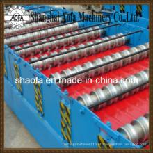 Rolo do painel da telhadura / parede que forma a máquina (AF-R890)
