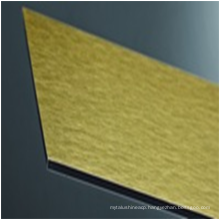 3/4mm Brushed coated/faced acp/acm board building construction Material with good price