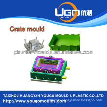 China bottle crate mould with design many purpose or uses, plastic bottle crate mould supplier , crate moulding in Taizhou